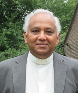 Rev'd Soba Sinnathambyi our Minister was appointed in September 2020. Soba joins us by way of North and South Wales and Chipping Norton